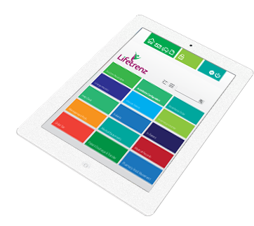 Lifetrenz Hospital Tablet App